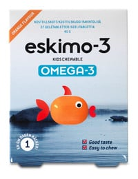 Eskimo-3 Eskimo Kids Chewable 27 geltabl.