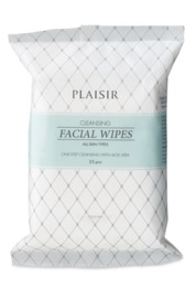 Plaisir Cleansing Facial Wipes 25 stk.