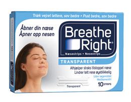 Breathe Right 10 stk