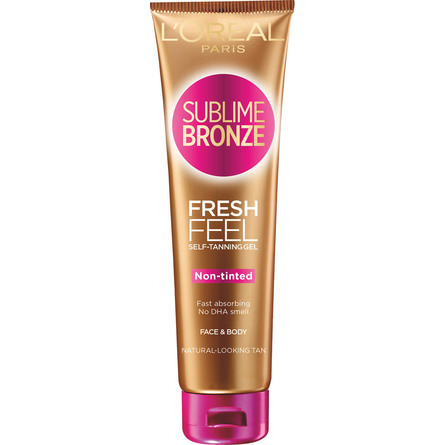 L'Oréal Paris Sublime Bronze Fresh Feel Self-Taninng Gel Face & Body 150 ml