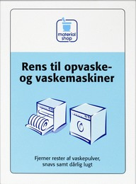 Matas Material Rens til opvaske- og vaskemaskine 2 x 60 g