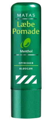 Matas Striber Læbepomade med Menthol 1 x 4,8 g