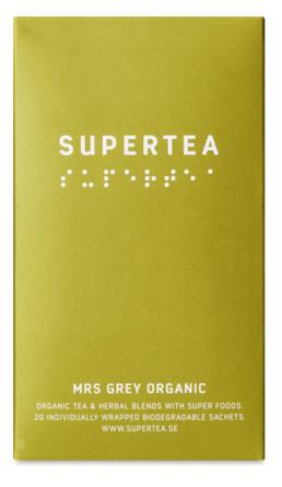 Supertea Mrs Grey Organic 20 br.  Øko