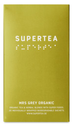 Supertea Mrs Grey Organic 20 br.  Øko