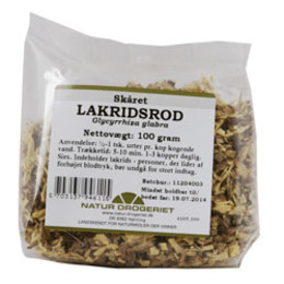 Natur Drogeriet Lakridsrod skåret 100 gr.