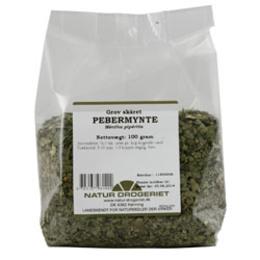 Natur Drogeriet Pebermynte grov skåret 100 gr.