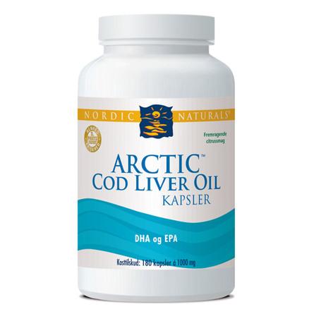 Nordic Naturals Torskelevertran Citrus cod liver
