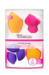 Real Techniques Miracle Complexion Sponge set 6 st
