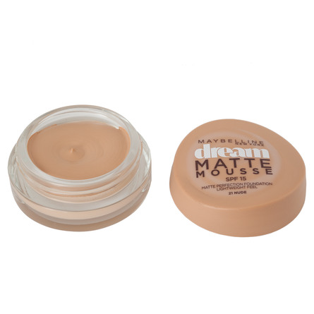 Maybelline Dream Matte Mousse 21 Nude