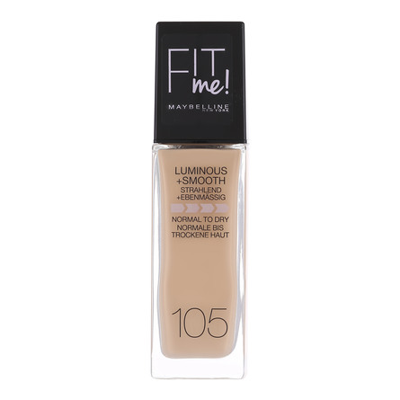 Maybelline Fit Me Luminous & Smooth Foundation 105 Natural Ivory