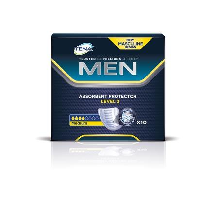 Tena Men Level 2 Inkontinensbind 10 stk.