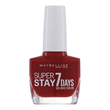 Maybelline Superstay 7 Days Neglelak 06 Deep Red