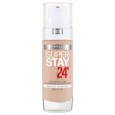 Maybelline SuperStay 24H Foundation 10 Ivory