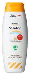 Matas Sollotion faktor 15 200 ml