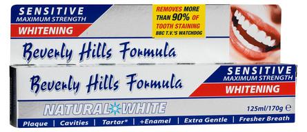 Beverly Hills Tandpasta Natural White 125 ml