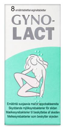 Vitabalans Oy Gynolact vaginaltabletter 8 stk