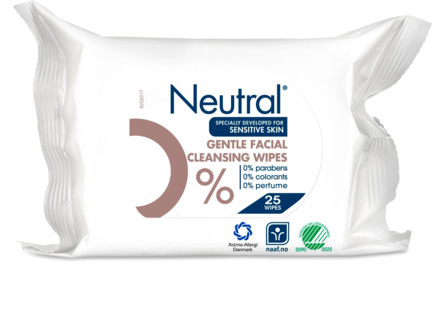 Neutral Makeup Remover Wipes 25 stk.