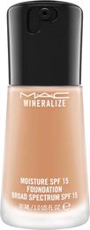 MAC Mineralize Moisture SPF15 Foundation NC 37