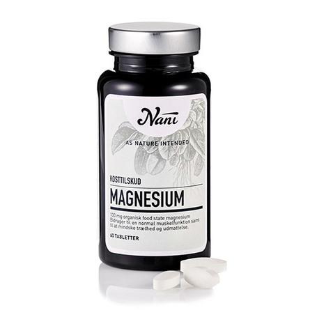 Nani Magnesium Food State 60 tabl.