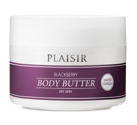 Plaisir Body Butter Brombær 200 ml