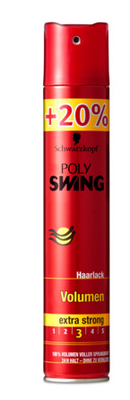 Schwarzkopf Poly Swing hårlak + 20%