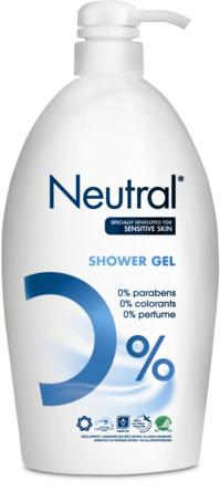 Neutral Shower Gel 1000 ml