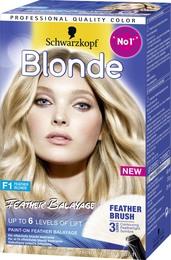 Blonde F1 Feather Balayage