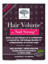 New Nordic Hair Volume Nail Strong 60 tabl.