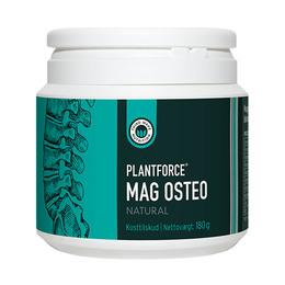 Mag Osteo natural Plantforce 180 g