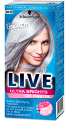 Live Color Ultra Brights 98 Steel Silver