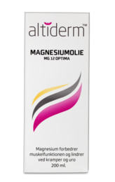 Altiderm magnesiumolie 200 ml
