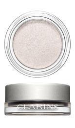 Clarins ombre iridescente eyeshadow 08 silver whit