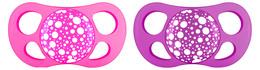 Twistshake sutter silikone pink/purple 6+ mdr. 2