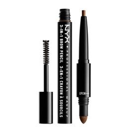 3 In 1 Brow - Sft Brwn