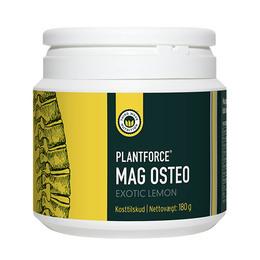 Mag Osteo exotic lemon Plantforce 180 g