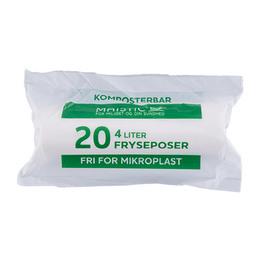 Komposterbare fryseposer 4L
