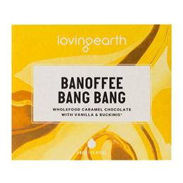 Loving Earth Chokolade Banoffee Bang Bang  Øko 45 gr.