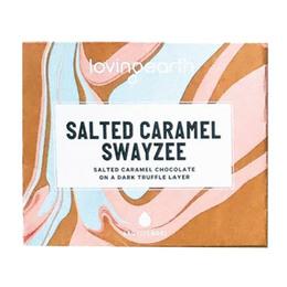 Loving Earth Chokolade Salted Caramel Øko m Swayzee 45 gr.