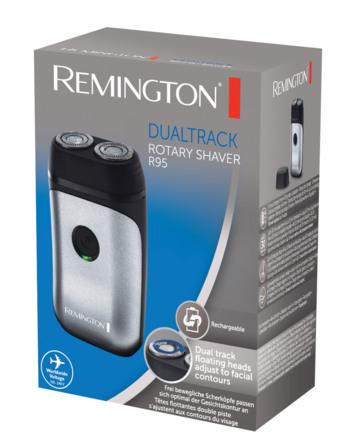 Remington Praktisk roterende rejse barbermaskine,