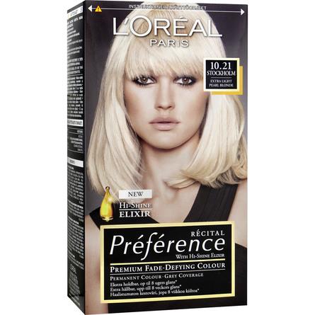 L'Oréal Récital 10.21 Stockholm Light Pearl Blond