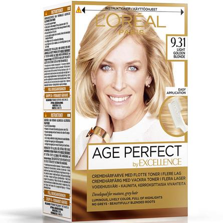 L'Oréal Paris Age Perfect by Excellence Cremehårfarve 9.31
