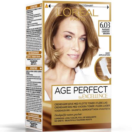 L'Oréal Paris Age Perfect by Excellence Cremehårfarve 6.03