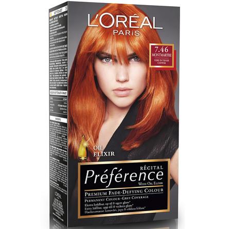 rød hårfarve matas