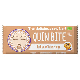 Blåbær bar - Quin Bite 30 g