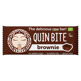 Brownie bar - Quin Bite 30 g