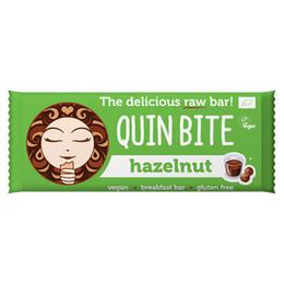 Hasselnød bar - Quin Bite 30 g