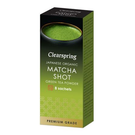 NatureSource MatchaShots (Premium grade) 8 br. Øko