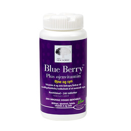 New Nordic Blue Berry Øjenvitamin 240 tabl.