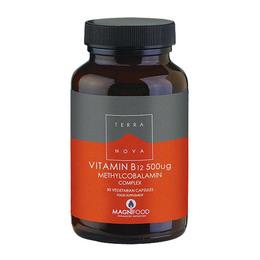 Terra Vitamin B12 500 mcg 50 kaps.