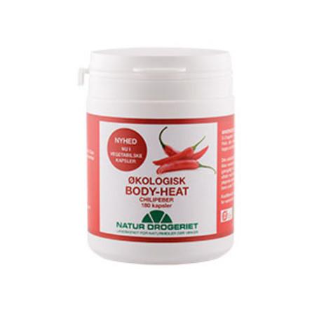 Natur Drogeriet Body-Heat 180 kaps  Øko